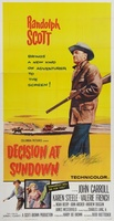 Decision at Sundown movie poster (1957) picture MOV_54a26c63
