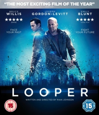 Looper movie poster (2012) poster MOV_54a2afe6