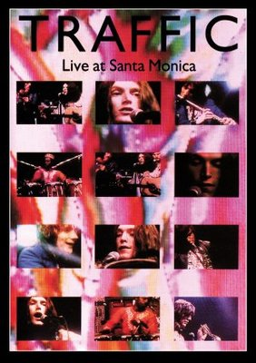 Traffic Live at Santa Monica movie poster (1972) poster MOV_54a92c7a
