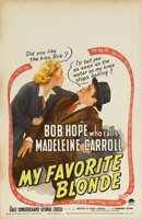 My Favorite Blonde movie poster (1942) picture MOV_54b551f9