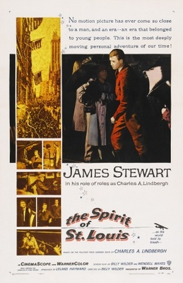 The Spirit of St. Louis movie poster (1957) poster MOV_54cf8139