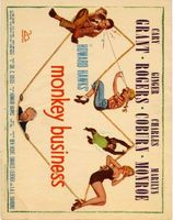 Monkey Business movie poster (1952) picture MOV_54d28228