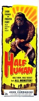 Half Human movie poster (1958) picture MOV_54d86167