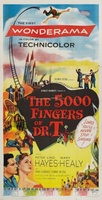The 5,000 Fingers of Dr. T. movie poster (1953) picture MOV_54dc3aca