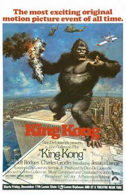 King Kong movie poster (1976) poster MOV_54e0e072