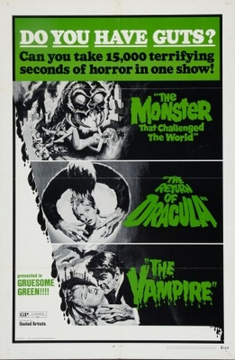 The Vampire movie poster (1957) poster MOV_550e333f