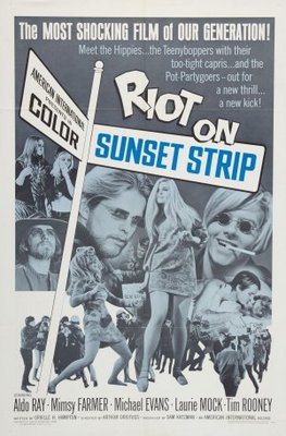 Riot on Sunset Strip movie poster (1967) poster MOV_550fd36a