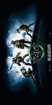 TMNT movie poster (2007) poster MOV_5520c70c