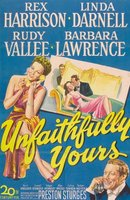 Unfaithfully Yours movie poster (1948) picture MOV_55288614