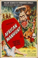 African Manhunt movie poster (1955) picture MOV_55295281