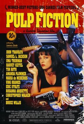 Pulp Fiction movie poster (1994) poster MOV_55345443