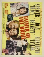 Father of the Bride movie poster (1950) picture MOV_554555db
