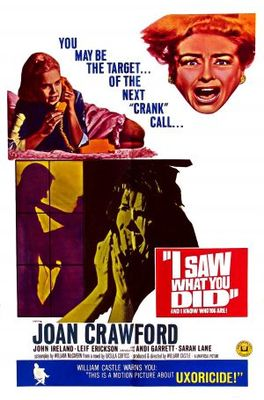 I Saw What You Did movie poster (1965) poster MOV_5547b93e