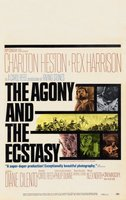The Agony and the Ecstasy movie poster (1965) picture MOV_554d95b7