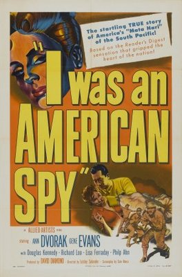 I Was an American Spy movie poster (1951) poster MOV_5555bed1