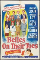 Belles on Their Toes movie poster (1952) picture MOV_555b90cc
