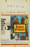 Return to Peyton Place movie poster (1961) picture MOV_5574e105
