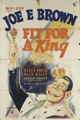 Fit for a King movie poster (1937) poster MOV_558d532c