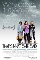 That's What She Said movie poster (2011) picture MOV_5599db35