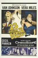 23 Paces to Baker Street movie poster (1956) picture MOV_559f8918