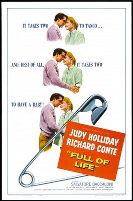 Full of Life movie poster (1956) poster MOV_55cb8fab
