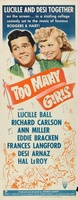 Too Many Girls movie poster (1940) picture MOV_55e6a9d8