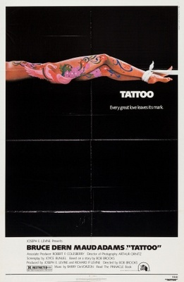 Tattoo movie poster (1981) poster MOV_55f576f1