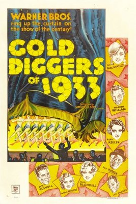 Gold Diggers of 1933 movie poster (1933) poster MOV_55f5cfc5