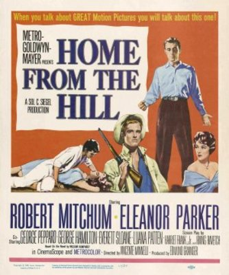 Home from the Hill movie poster (1960) poster MOV_55fbee2d