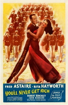 You'll Never Get Rich movie poster (1941) poster MOV_5615973d