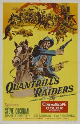 Quantrill's Raiders movie poster (1958) poster MOV_56196668