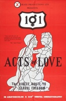 101 Acts of Love movie poster (1971) picture MOV_561b0e61