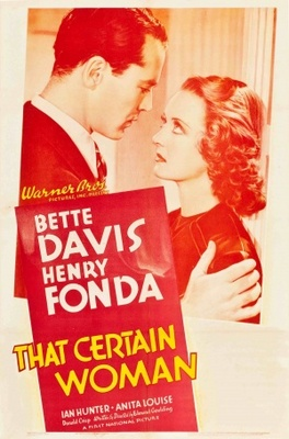 That Certain Woman movie poster (1937) poster MOV_5648cf4c