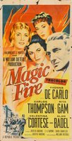 Magic Fire movie poster (1956) picture MOV_5650870b
