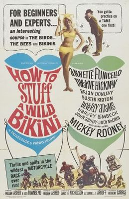 How to Stuff a Wild Bikini movie poster (1965) poster MOV_56527351