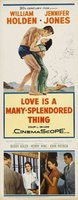 Love Is a Many-Splendored Thing movie poster (1955) picture MOV_565456b8