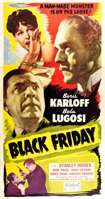 Black Friday movie poster (1940) poster MOV_565f805a