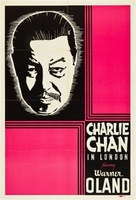 Charlie Chan in London movie poster (1934) picture MOV_568edf03