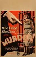 Murder! movie poster (1930) picture MOV_56ae9110