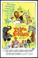 Zebra in the Kitchen movie poster (1965) picture MOV_56c18199
