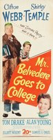 Mr. Belvedere Goes to College movie poster (1949) picture MOV_56ebd3ab