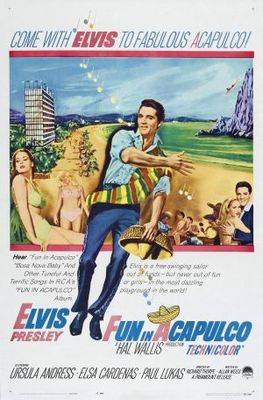 Fun in Acapulco movie poster (1963) poster MOV_56fe1ecf