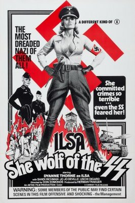 Ilsa, She Wolf of the SS movie poster (1975) poster MOV_572cc979