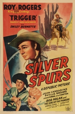 Silver Spurs movie poster (1943) poster MOV_573cb89b
