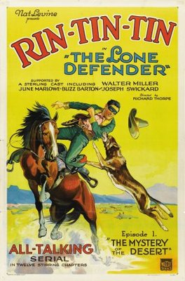 The Lone Defender movie poster (1930) poster MOV_573e9428