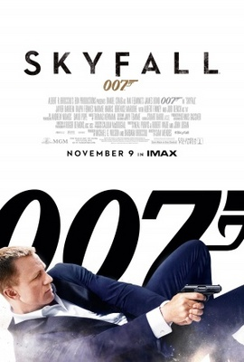 Skyfall movie poster (2012) poster MOV_57408723