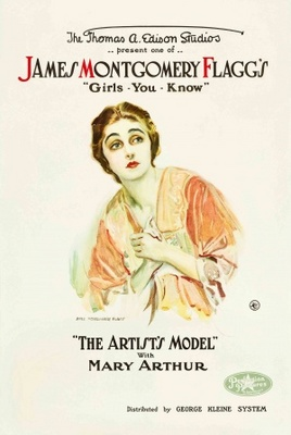 The Artist's Model movie poster (1918) poster MOV_5751ec0a