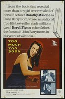 Too Much, Too Soon movie poster (1958) picture MOV_57594268