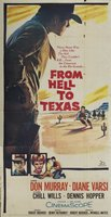 From Hell to Texas movie poster (1958) picture MOV_57671462