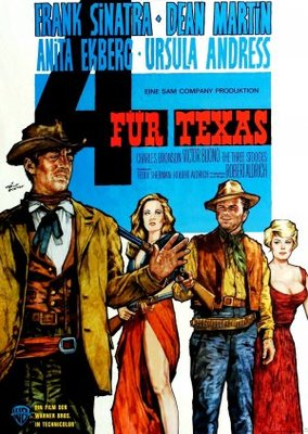 4 for Texas movie poster (1963) poster MOV_576db4d5